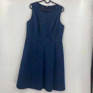 Talbots Sleeveless Textured Business Casual Dress